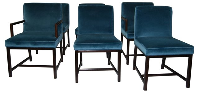 Baker Dining Chairs, Set of 6