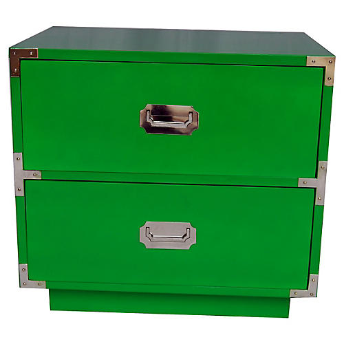 Campaign-Style Green Chest