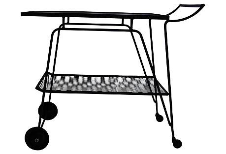 Midcentury Bar Cart