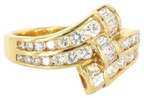 18K Gold & Diamond Band
