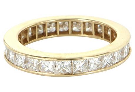 14K Gold, Diamond Eternity Ring