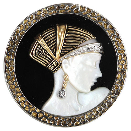 Erte Love's Enchantment Brooch