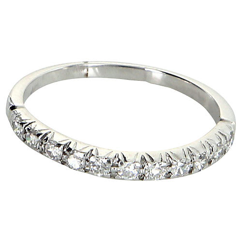 Diamond Wedding Band 18k Gold