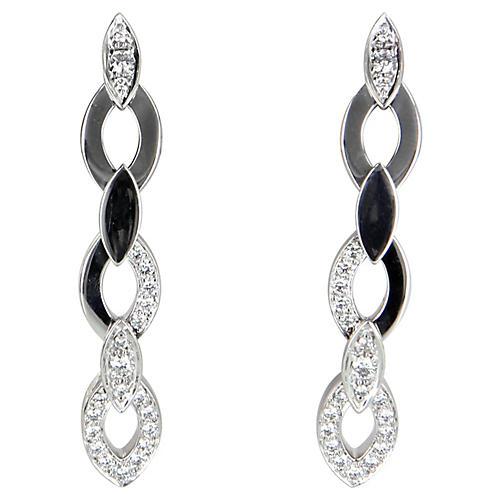Cartier Diadea 1ct Diamond Earrings