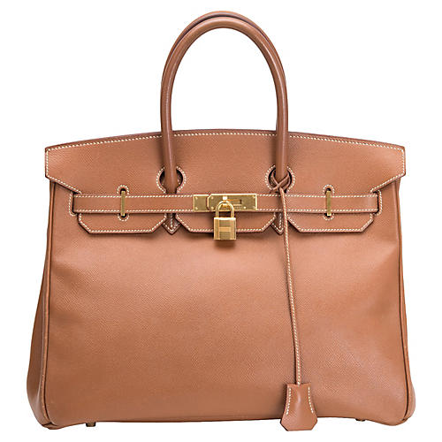 Hermes Birkin Courchevel Brown 35cm