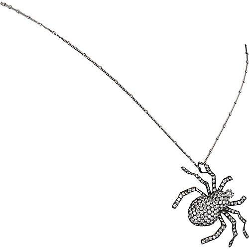 4.5ct Diamond Spider Necklace