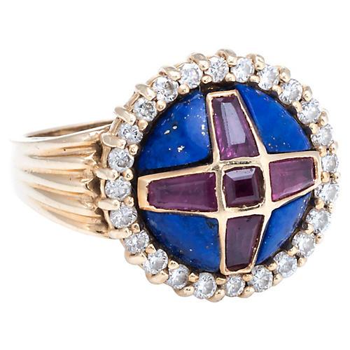 1987 Franklin Mint Coronation Ring