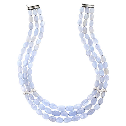 Antonini Chalcedony Multistrand Necklace
