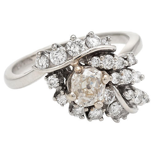 1.50ctw Diamond Cocktail Ring Vintage