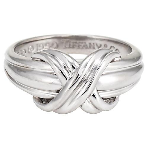 Tiffany & Co 18K Gold Knot Ring