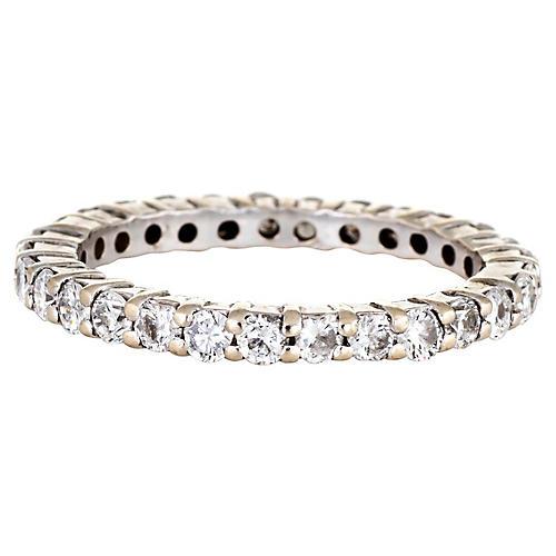 Diamond Eternity Ring Sz 5.75