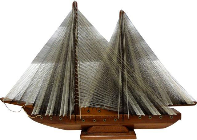 String Art Sailing Ship