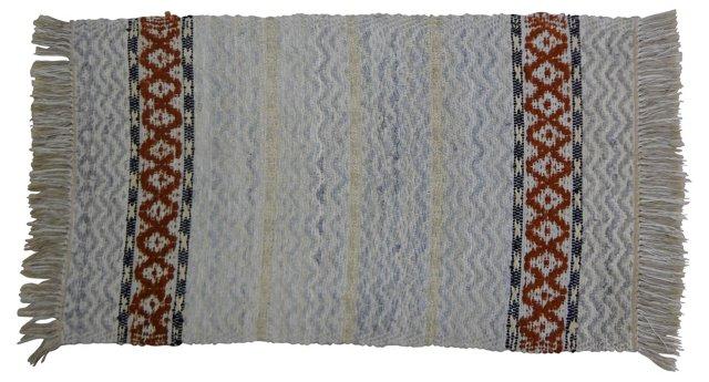 Swedish Rag Rug,   4' x 2'