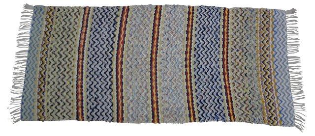 Swedish Rag Rug, 6' x 2'5''