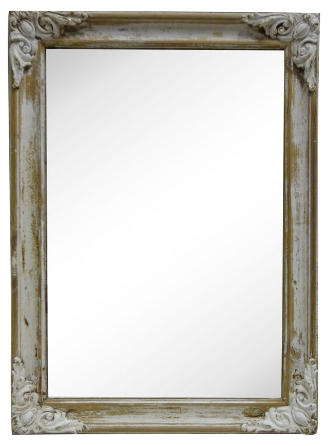 Swedish   Gustavian-Style Wall Mirror