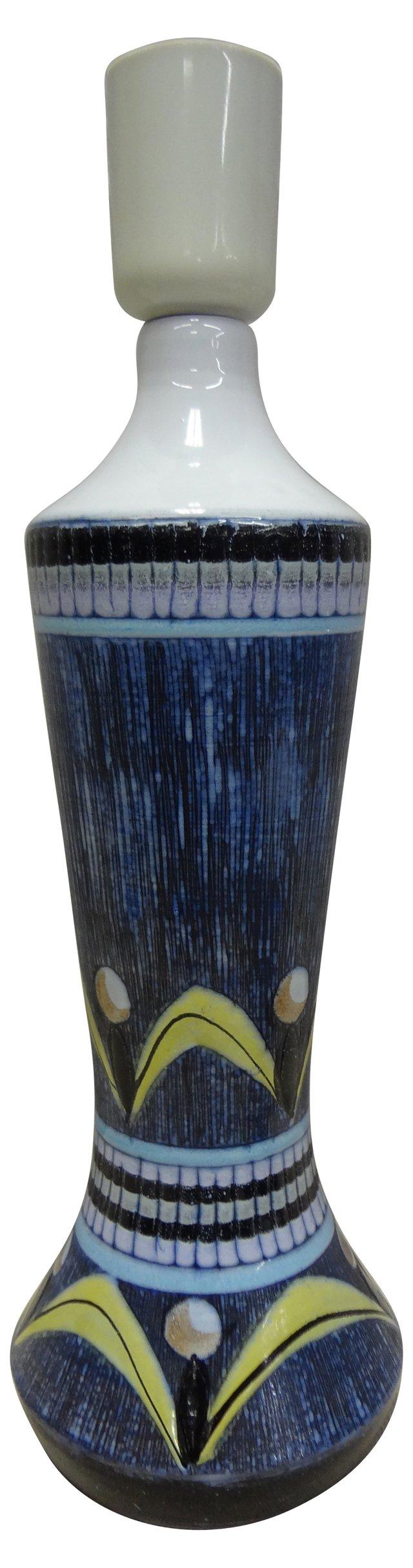 Swedish Art Pottery Lamp