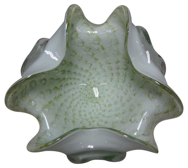 Murano Flower Bowl
