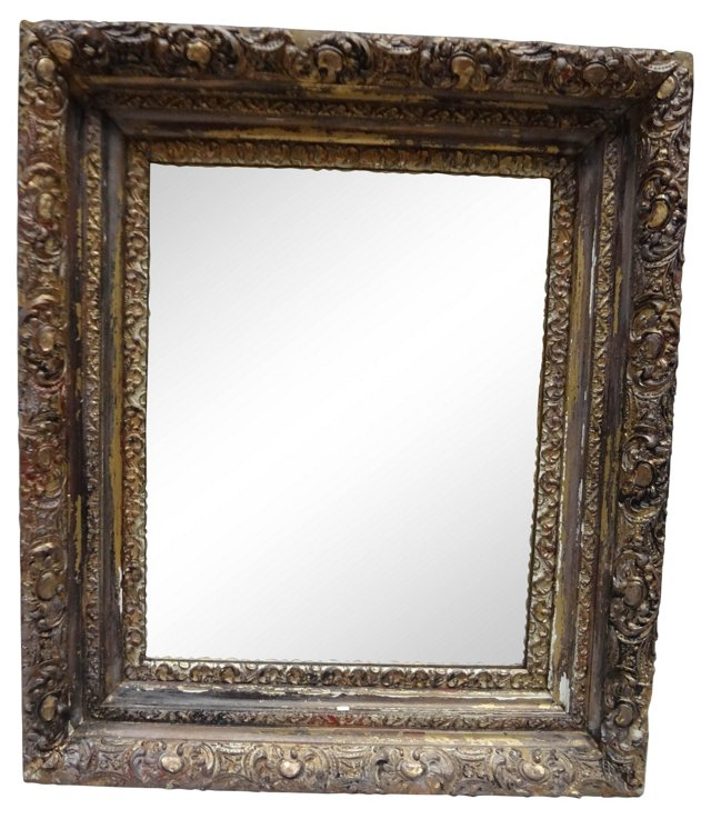 Swedish  Gilded   Mirror