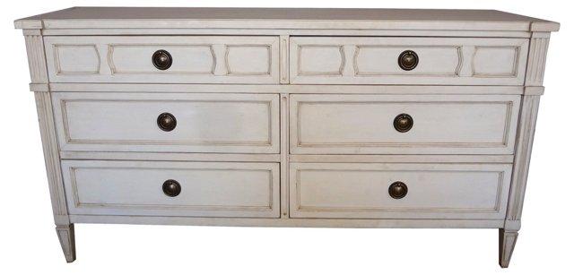 Swedish  3-Drawer Dresser