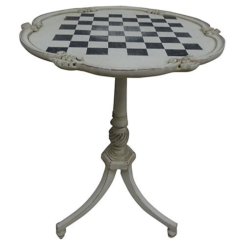 Swedish Rococo-Style Game Table