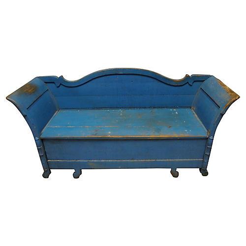 Swedish Hand-Painted Sofa Bed