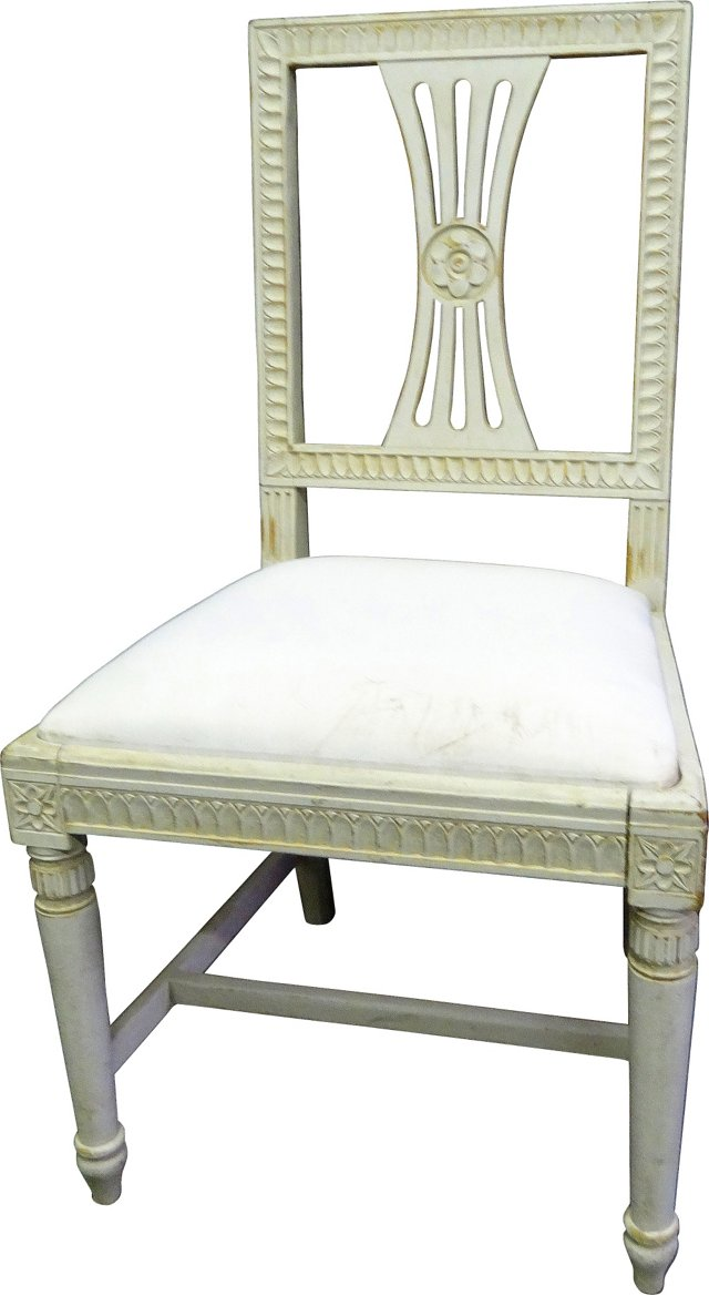 Swedish Carved Chair