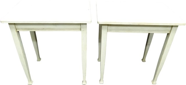 Swedish Side Tables, Pair