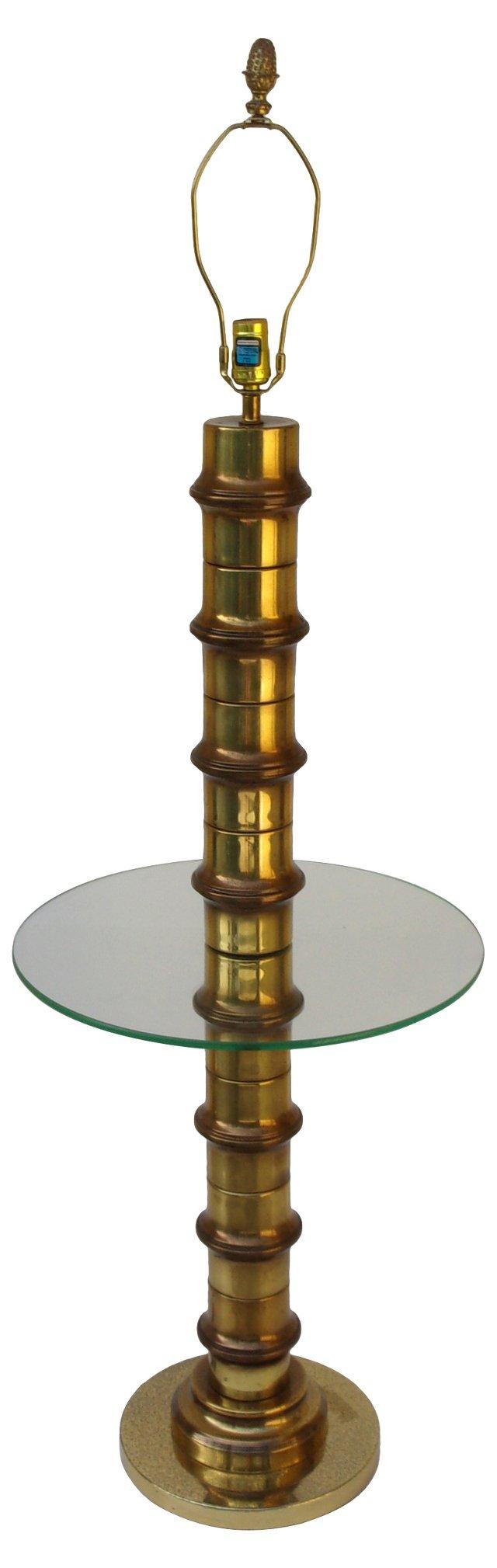 Mastercraft Bamboo-Style Floor Lamp