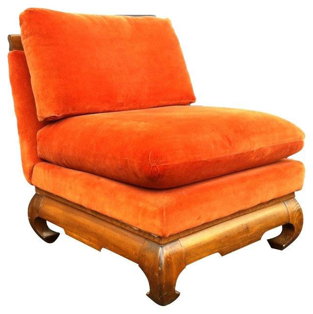 Ming-Style Lounge Chair