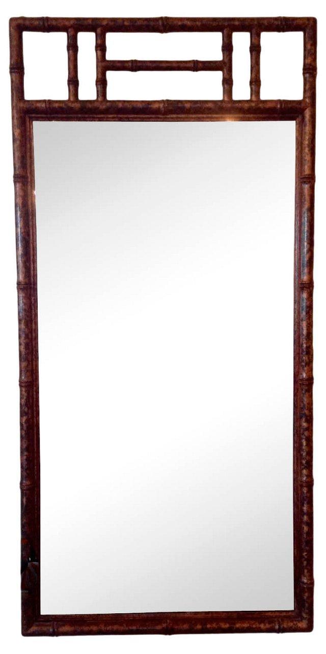 Faux-Bamboo     Mirror