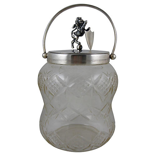 English Royal Lion Ice Bucket