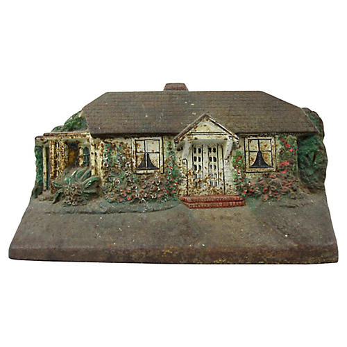 Cast Iron House Doorstop