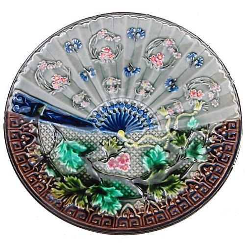 Villeroy & Boch Art Nouveau Fan Plate