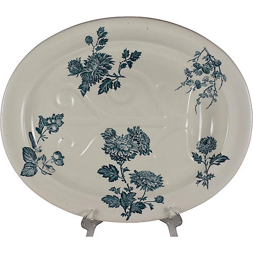 19th-C. Josiah Wedgwood Tree Platter