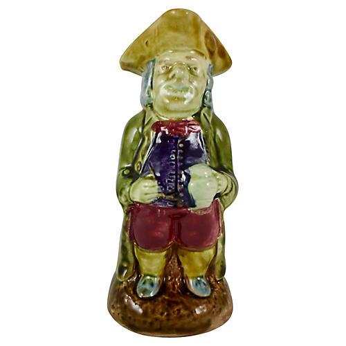 English Figural Gentleman Toby Jug