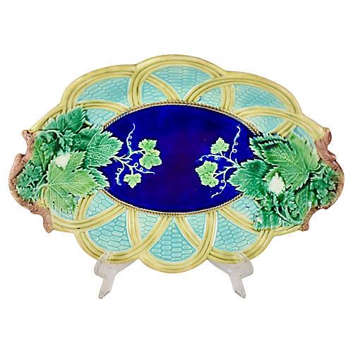 Wedgwood Grape & Wicker Platter