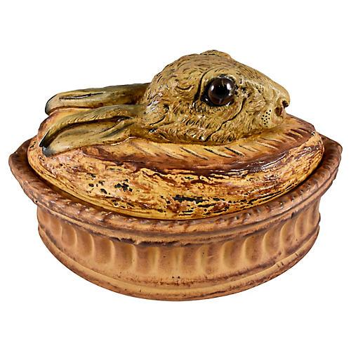 Pillivuyt Porcelain Rabbit Terrine