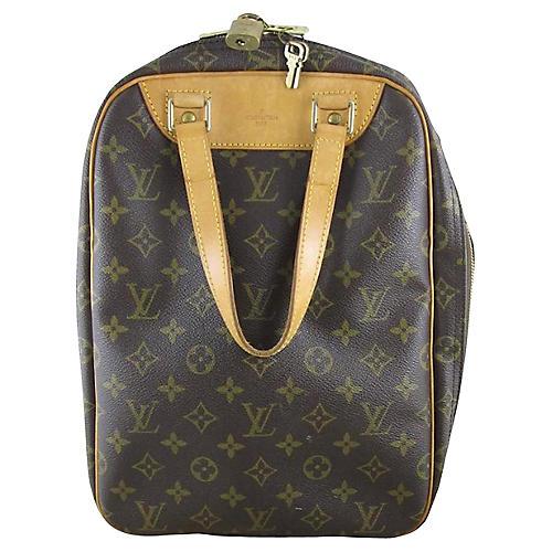 Louis Vuitton Excursion Shoe Bag w/ Lock