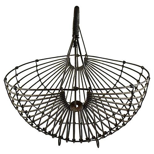 Karl Howard Steel Art Basket