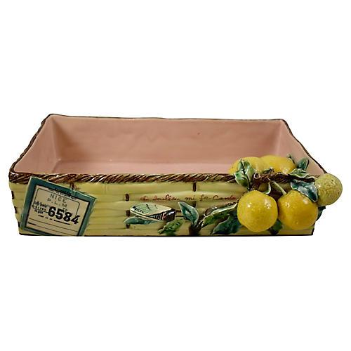 Menton Provençal Lemon Shipping Crate