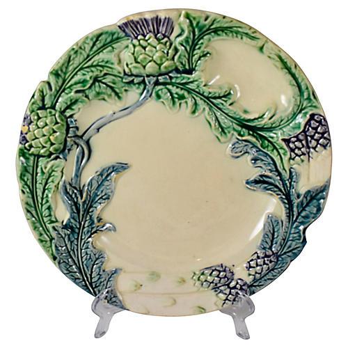 Fives-Lille Artichoke & Asparagus Plate