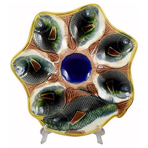 Adams & Bromley Fish Oyster Plate