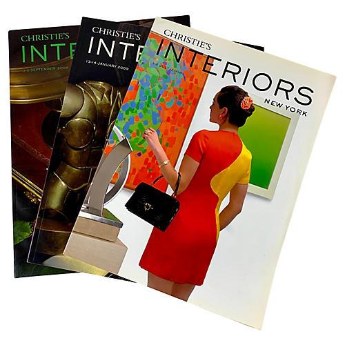 Christie's NY Interiors Catalogues, S/3
