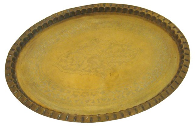 Brass Table Tray Top