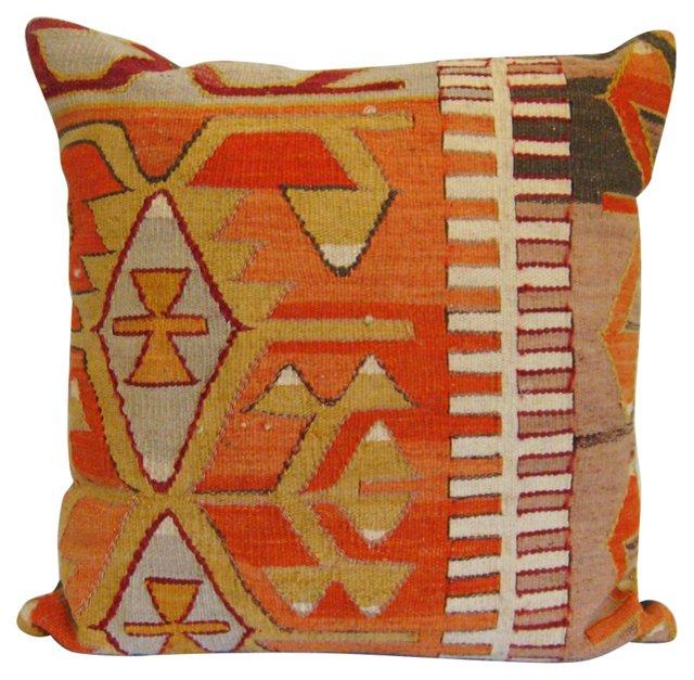 Turkish Kilim Floor Pillow
