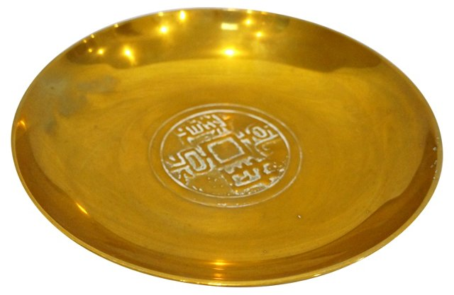 Bronze Coin Tray