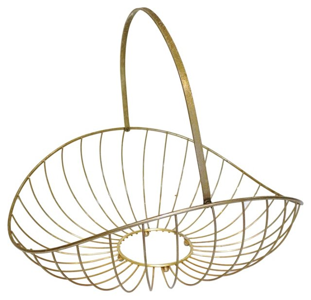 Oversized Catchall Basket