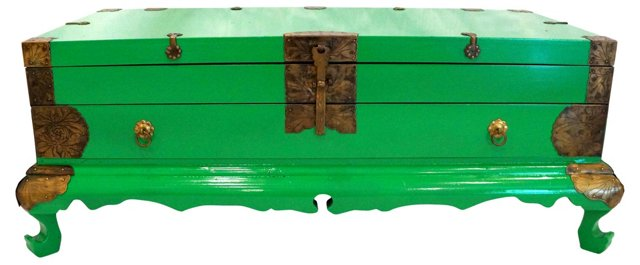Green Asian-Style  Trunk