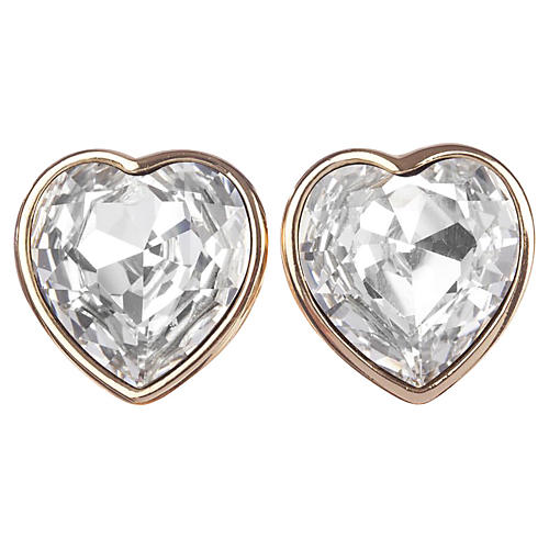 Christian Dior Headlight Earrings