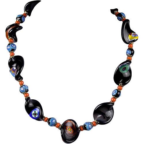 Millefiori Italian Glass Necklace